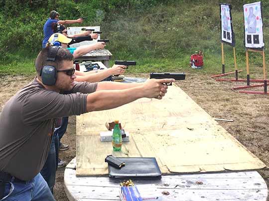 Home defense handgun range 4